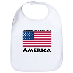 America Freedom Bib