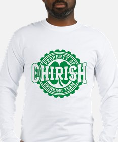 Chirish Bottle Cap Drinking Team St Patricks Day L