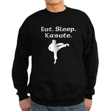 Eat Sleep Karate Sweatshirt