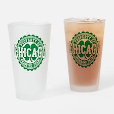 Chicago Irish Bottle Cap Drinking Team Drinking Gl