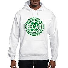 Chicago Irish Bottle Cap Drinking Team Hoodie