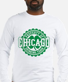 Chicago Irish Bottle Cap Drinking Team Long Sleeve