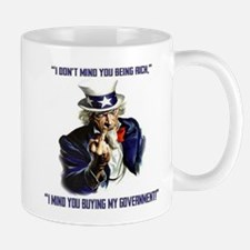 Uncle Sam Flipping The Bird Mugs
