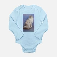 blue tabby colourpoint siberian cat Body Suit
