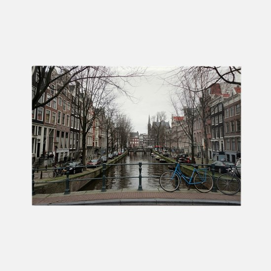 Cute Amsterdam Rectangle Magnet