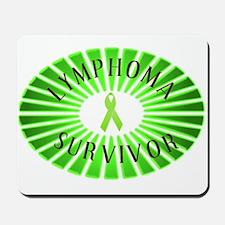 LYMPHOMA SURVIVOR Mousepad