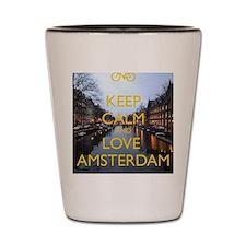 Cute Amsterdam Shot Glass