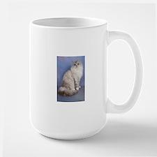 blue tabby colourpoint siberian cat Mugs