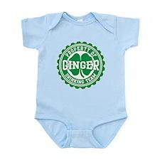 Ginger Irish Drinking Team Infant Bodysuit