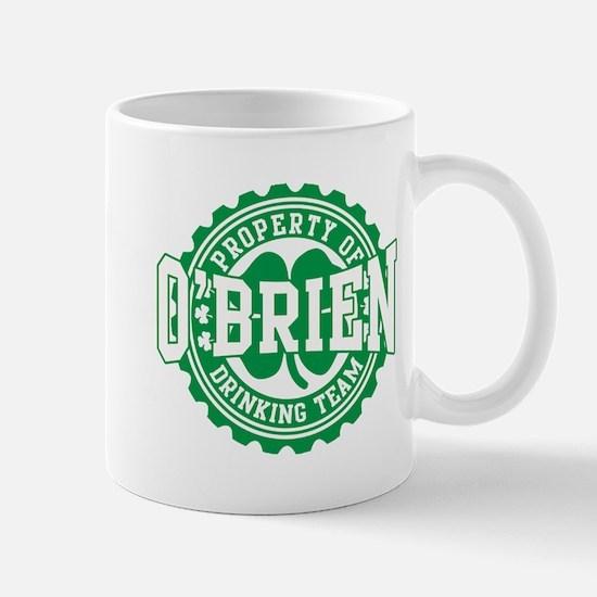 o'brien irish drinking team Mug