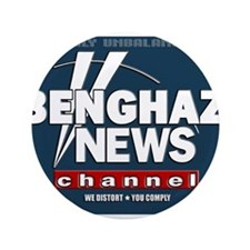 """Benghazi News Channel 3.5"""" Button (100 pack)"""