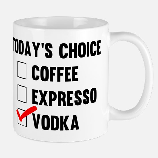Cute Coffee vodka Mug