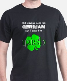 Unique Irish german drinking T-Shirt