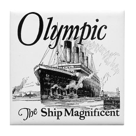 Titanic Honour and Glory Tile Coaster