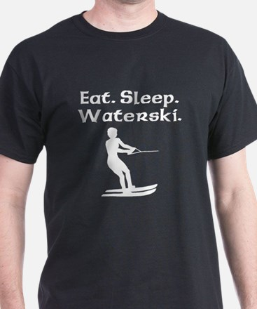Eat Sleep Waterski T-Shirt