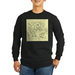 D'Anvers On Canvas Long Sleeve Dark T-Shirt