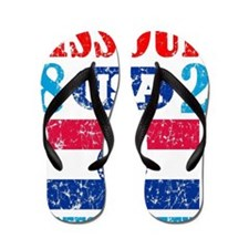 "MISSOURI / USA 1821 STATEHOOD ""PERFECT  Flip Flops"