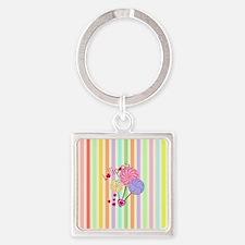 Lollipop Love Keychains