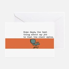 Spin Chair Card Greeting Cards