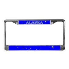 Alaska State Flag License Plate Frame