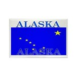 Alaska State Flag Rectangle Magnet (100 pack)