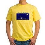 Alaska State Flag Yellow T-Shirt