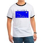 Alaska State Flag Ringer T