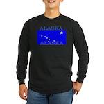 Alaska State Flag Long Sleeve Dark T-Shirt