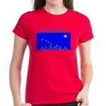Alaska State Flag Women's Dark T-Shirt