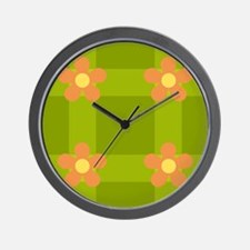 Garden 1 - Day Wall Clock