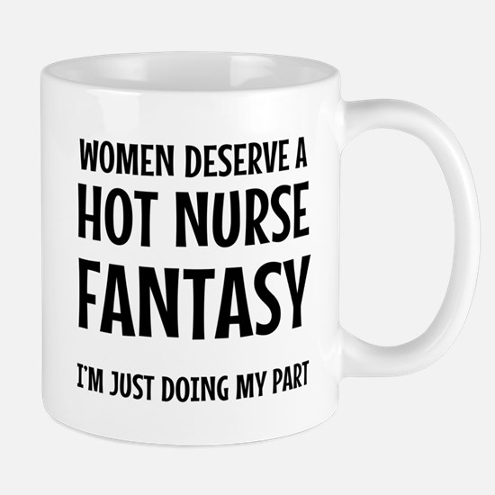 Hot Male Nurse Mugs