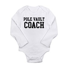 Funny Vaulting Long Sleeve Infant Bodysuit