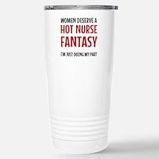 Hot Male Nurse Travel Mug