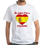 Palomo, Valentine's Day White T-Shirt