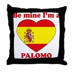 Palomo, Valentine's Day Throw Pillow