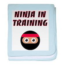Ninja In Training baby blanket