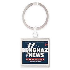 Benghazi News Channel Keychains