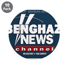 "Benghazi News Channel 3.5"" Button (10 pack)"