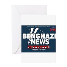 Benghazi News Channel Greeting Cards