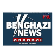 Benghazi News Channel Postcards (Package of 8)