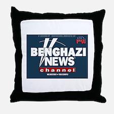 Benghazi News Channel Throw Pillow