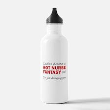 Hot Male Nurse Fantasy Water Bottle