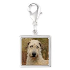 Awesome Blonde IRW Silver Square Charm