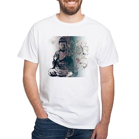 Pretty Buddha White T-Shirt