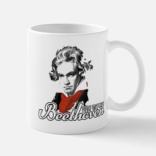 Beethoven piano virtuoso Mug