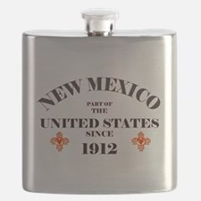 PART OF THE US SINCE 1912 Flask