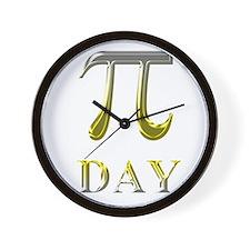 pi day Wall Clock