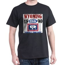 WYOMING USA 1890 STATEHOOD T-Shirt