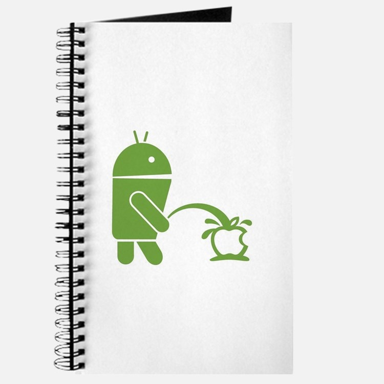 Android pissing on Apple. Journal