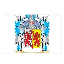 Quinlan Coat of Arms - Fa Postcards (Package of 8)